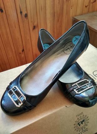 Новые черные туфли балетки life stride сша, размер us7,5 eur38.5 25см