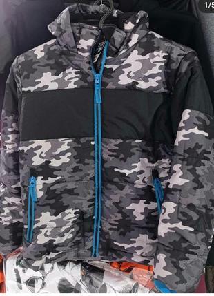 Деми куртка камуфляж y.f.k 134-140, 146-152, 158-164