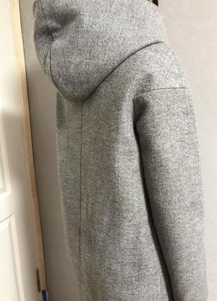 Пальто серое3 фото