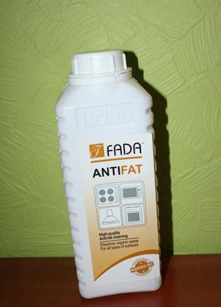 Ефективний засіб для видалення пригорівшого жиру від фада, fada