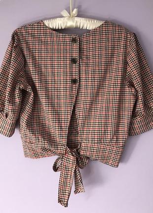 Блуза сорочка bershka