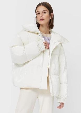 Пуховик куртка stradivarius