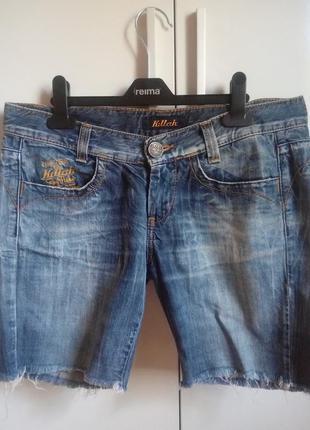 Фирменные джинсовые шорты killah