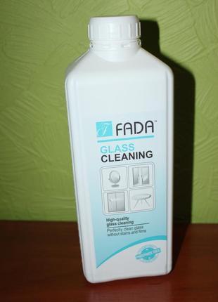 Еко засіб для скляних та дзеркальних поверхонь fada, фада, 1 л, fada™ glass