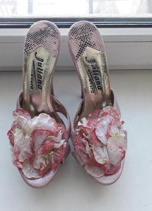Сабо туфли обувь