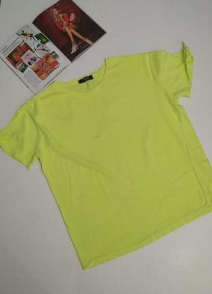 Мега крутая #футболка #салатовая италия