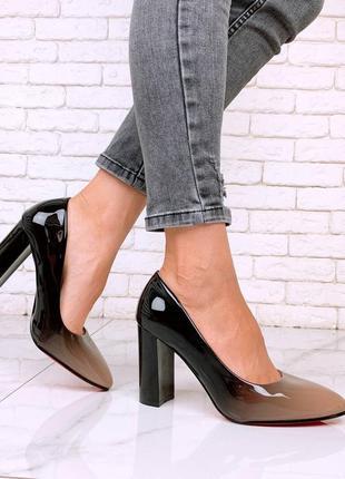 Туфли омбре
