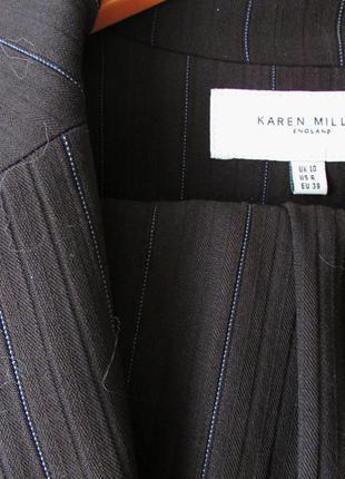 Деловой брючный костюм karen millen