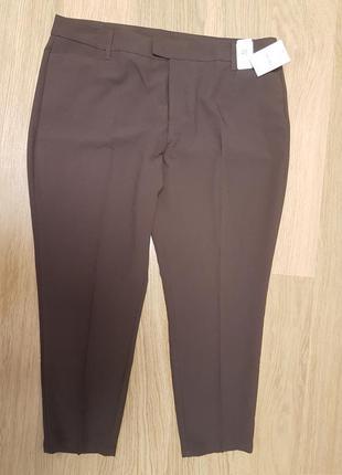 Простые, коричневые штаны, yessica, р. xl или xxl