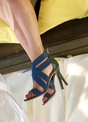 Sergio rossi/ туфли/ босоножки/ шпилька/ наложка