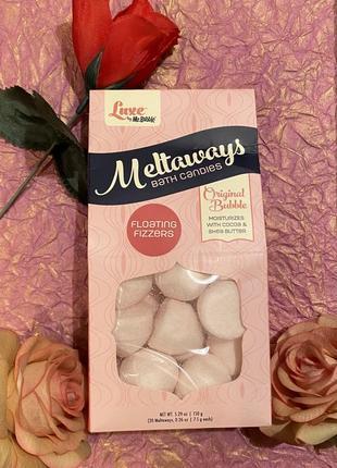 Luxe by mr. bubble, конфеты бомбочки для ванн с маслами и витаминами