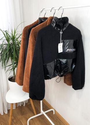 Виниловая куртка анорак