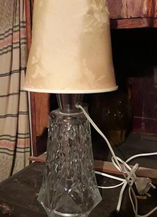 Лампа настольная, свеетильник, ночник