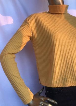 Яскрава жовта кофта від h&m