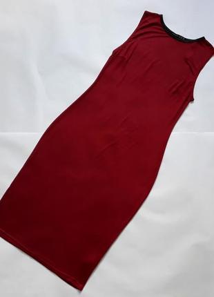 Длинное силуэтное платье в пол  приталено по фигуре atmosphere
