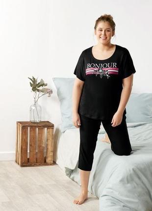 Удобная невероятно мягкая домашняя одежда пижама esmara l, xl, xxl
