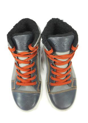Ботинки ecco caden. gore-tex. зима.