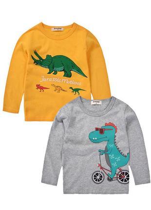 Лонгсливы с динозаврами7 фото