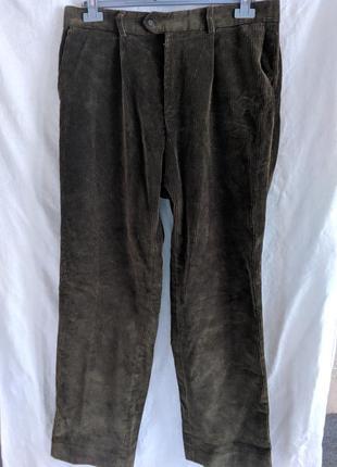 Женские вельветовые брюки joseph turner большой размер