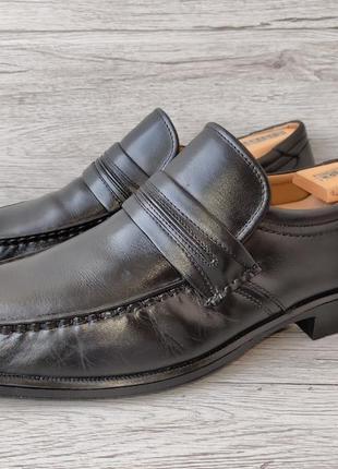 Clarks 46p туфли мужские лоферы кожа индия