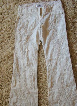 Летние брюки с люрексом