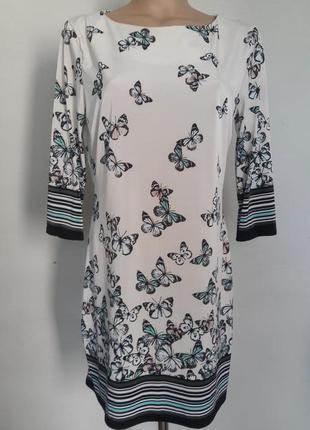 Платье с бабочками atmosphere