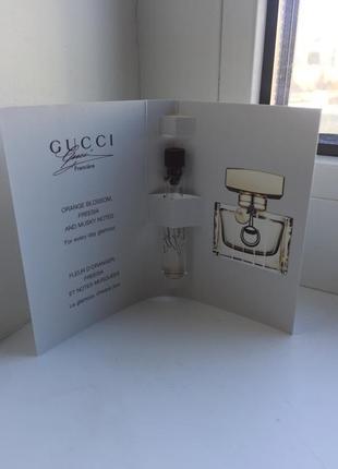 Gucci premiere eau de toilette - туалетная вода (пробник) (1.5ml)