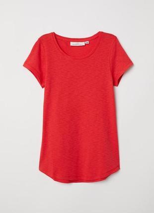 Яркая женская футболка h&m