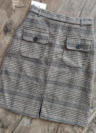 Теплая юбка хлопок/спідниця тепла