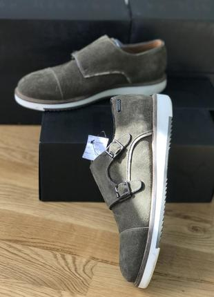 Мужские оригинальные туфли лоферы mexx