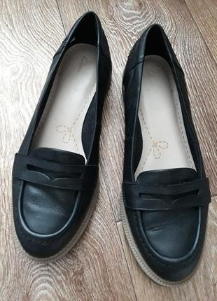 Туфли женские clarks натуральная кожа
