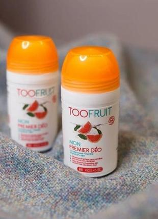 Дезодорант toofruit my first grapefruit mint 50 мл для детей и подростков