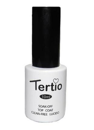Top - топ без липкого шару для гель лаку tertio, 10 мл
