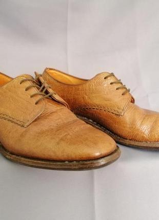 Мужские туфли дерби loake, кожа