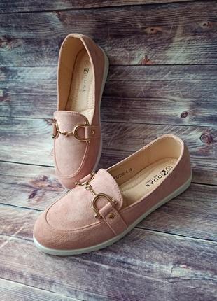 Мокасины туфли балетки