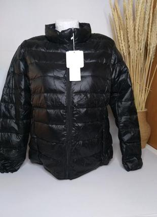Женская курточка пух.