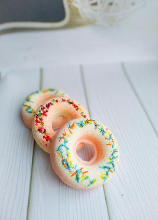 """Бомбочки для ванной """"пончики""""🍩"""