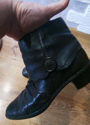 Ботинки кожа.
