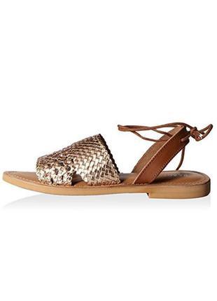 Kenneth cole оригинал сандалии босоножки кожаные на завязках бренд из сша