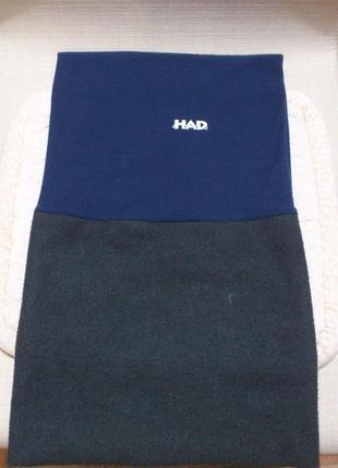 Баф флисовый h.a.d. originals fleece sky шарф синий снуд баф флісовий🇩🇪