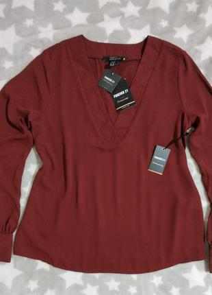 Новая блузка forever 21 с бирками блуза рубашка