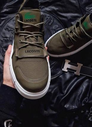 Демисезонные мужские кроссовки lacoste 🔥2 фото