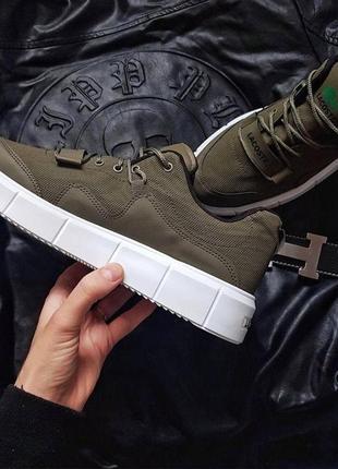Демисезонные мужские кроссовки lacoste 🔥5 фото