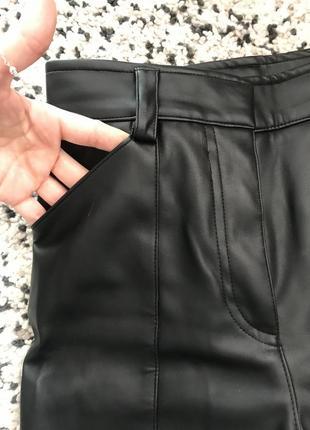 Hm кожаные брюки