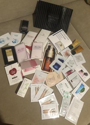 Набор пробники парфюмерия + уход