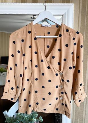 Шикарная блуза mango, новая
