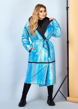 Двусторонняя куртка-жилет-пальто 42-62