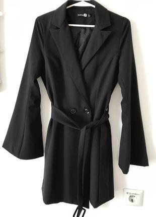 Платье пиджак boohoo