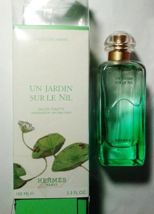 Hermes un jardin sur le nil, парфюмированная вода,100 мл