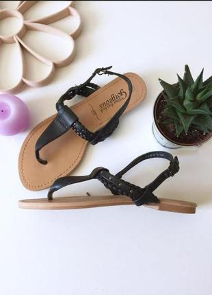 New look босоніжки босоножки сланцы сандалии с заклёпками